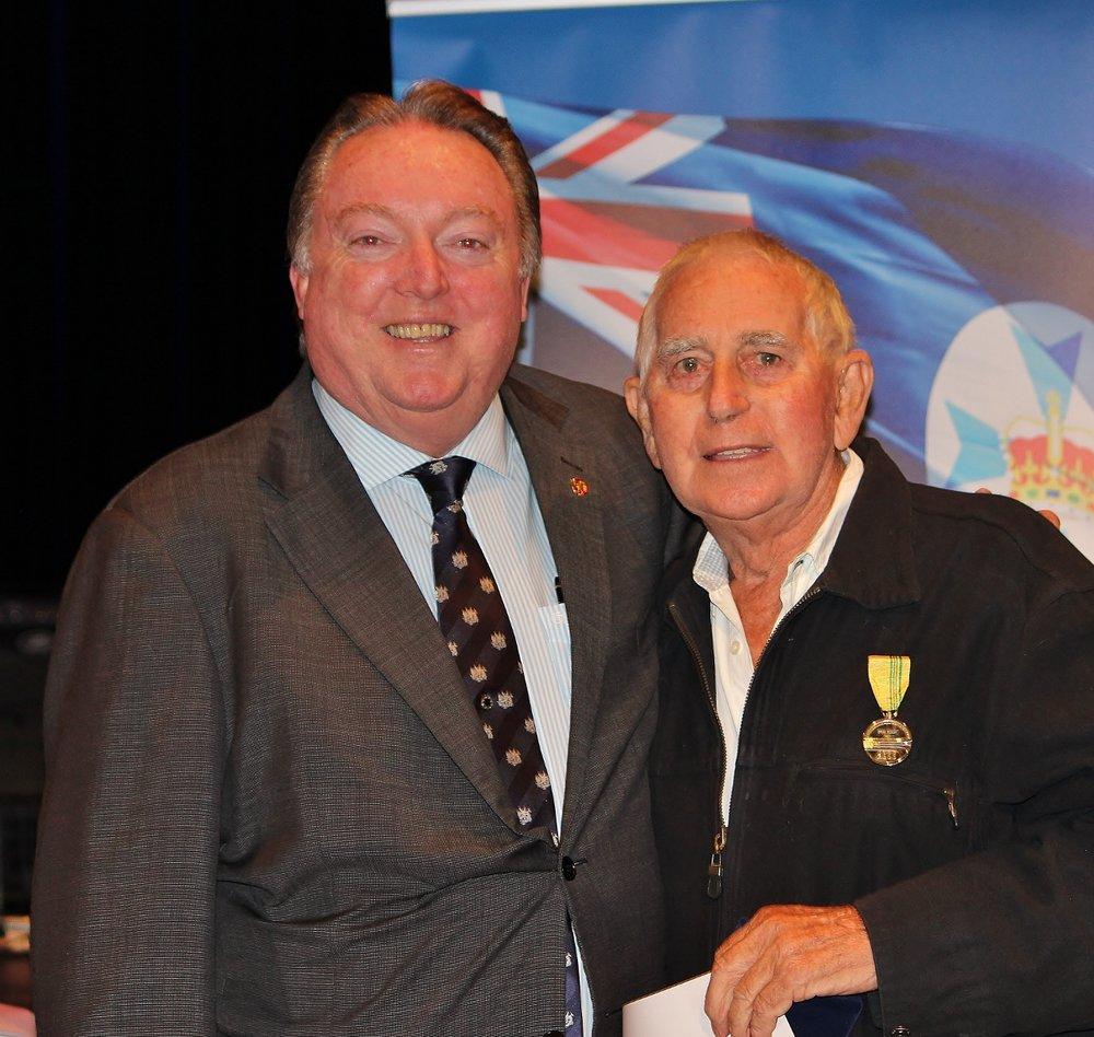Brian Trist celebrating his award with Glen Elmes (1).jpg