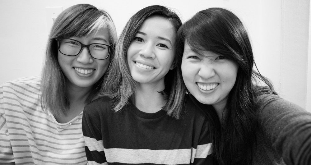 The Reach 1600 founders: Rosie Fan, Janny Tran, and Amy Lam.