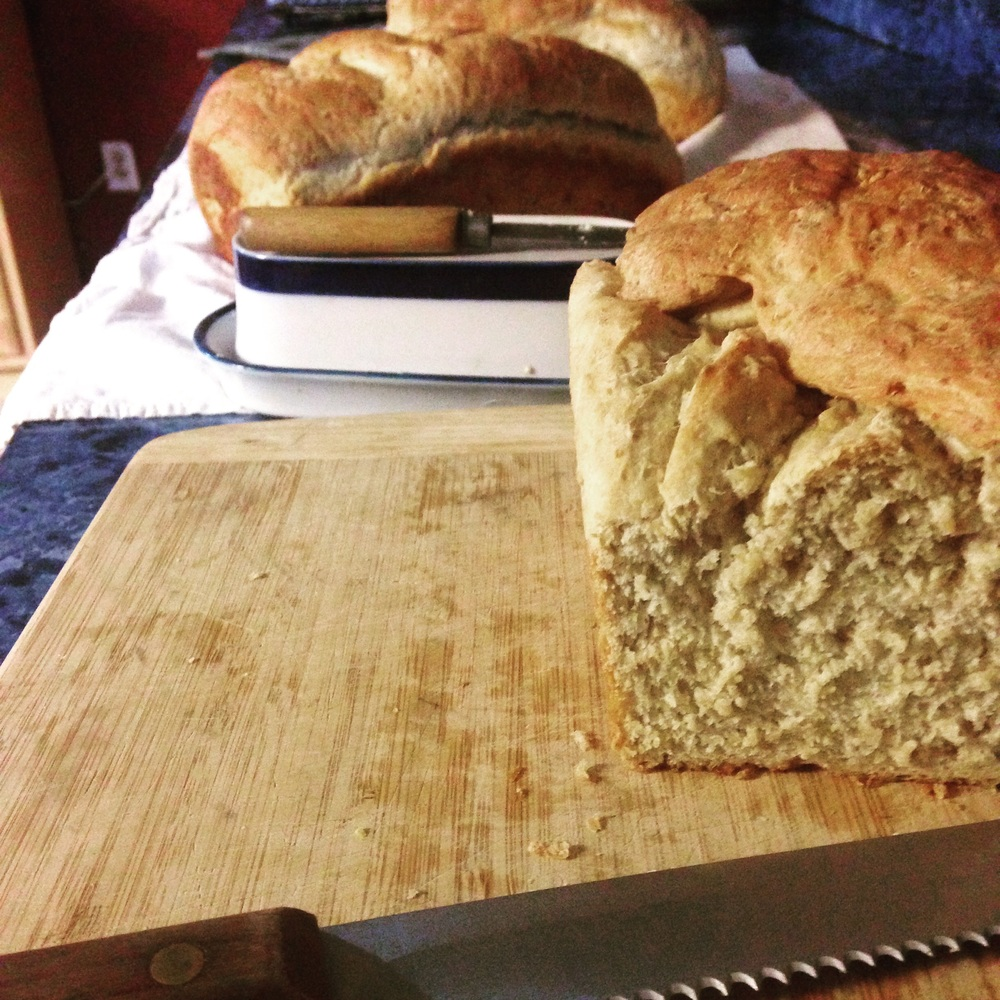 Homemade Oat Bread | 14 Mile Farm Handweaving and Homesteading in Alaska
