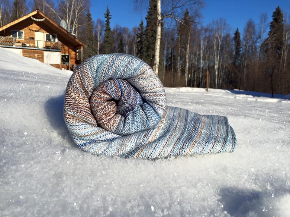 Resting on snow...