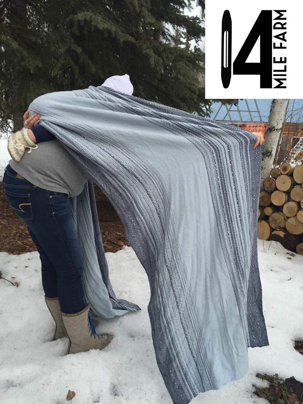 """Spark"" handwoven baby wrap : Spring 2016 Great Competition of Weavers Babywearing Edition 