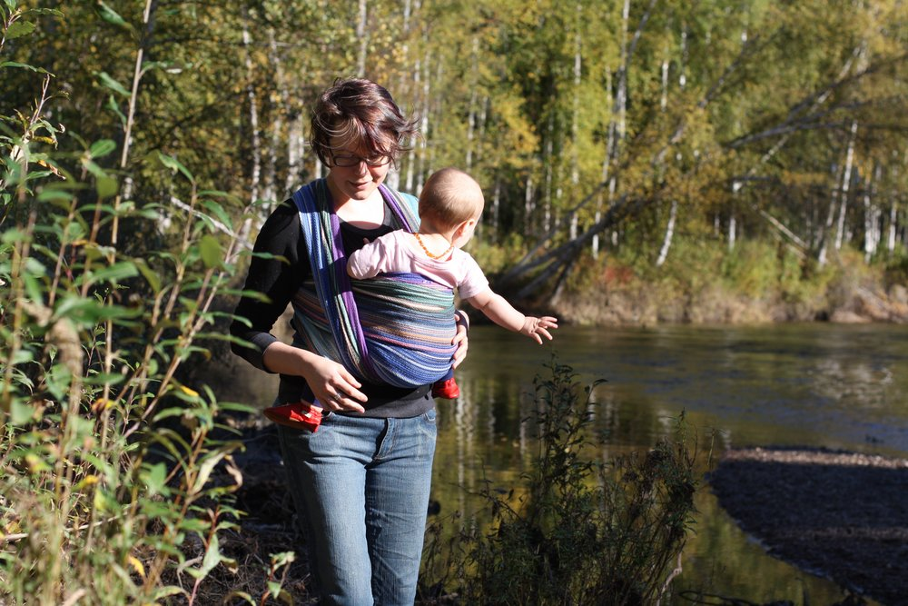 Riverwalking | 14 Mile Farm Handweaving and Homesteading in Alaska