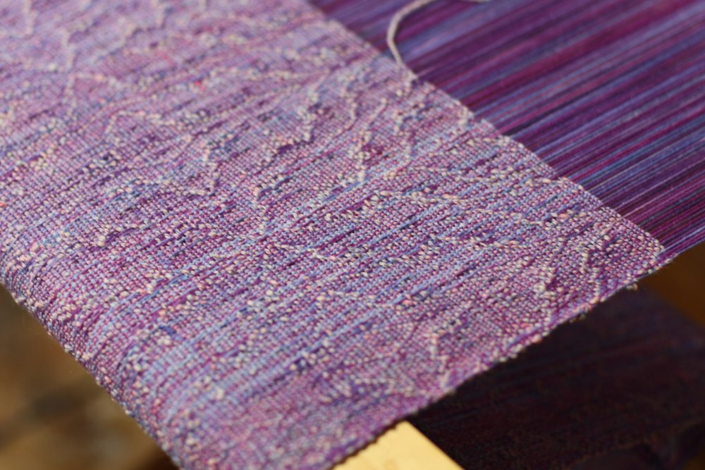 Textural handspun handwoven beauty| 14 Mile Farm Handweaving and Homesteading in Alaska
