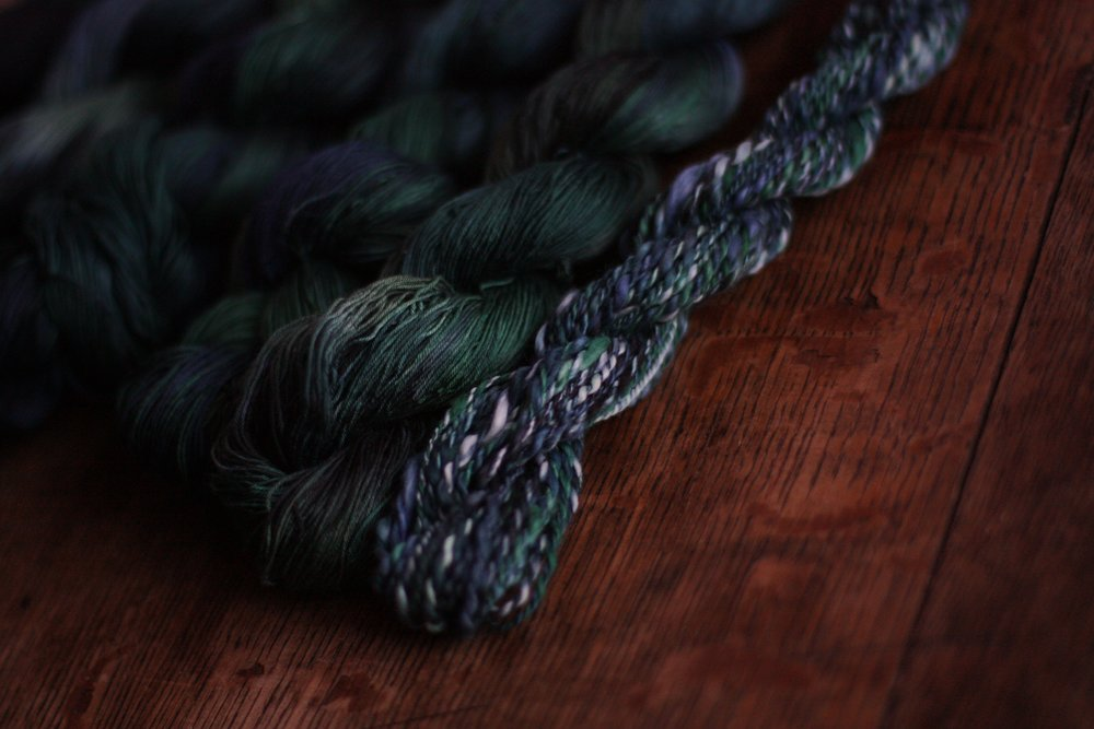 Handspun Sea Island Cotton will be used as an accent supplementary weft thread | 14 Mile Farm Handweaving and Homesteading