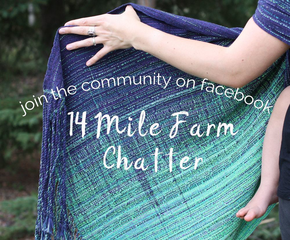Join the 14 Mile Farm Chatter on Facebook