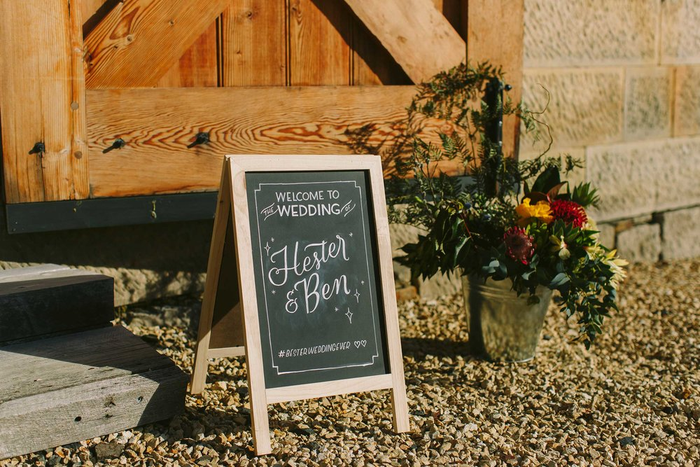 Custom event signage. Click on the image to see more
