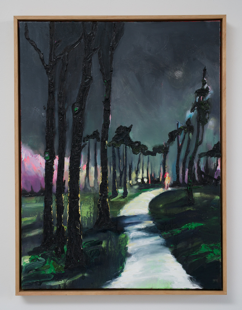 Encounter: Headlight  2016 Oil on Canvas  Photo: Luke Thompson