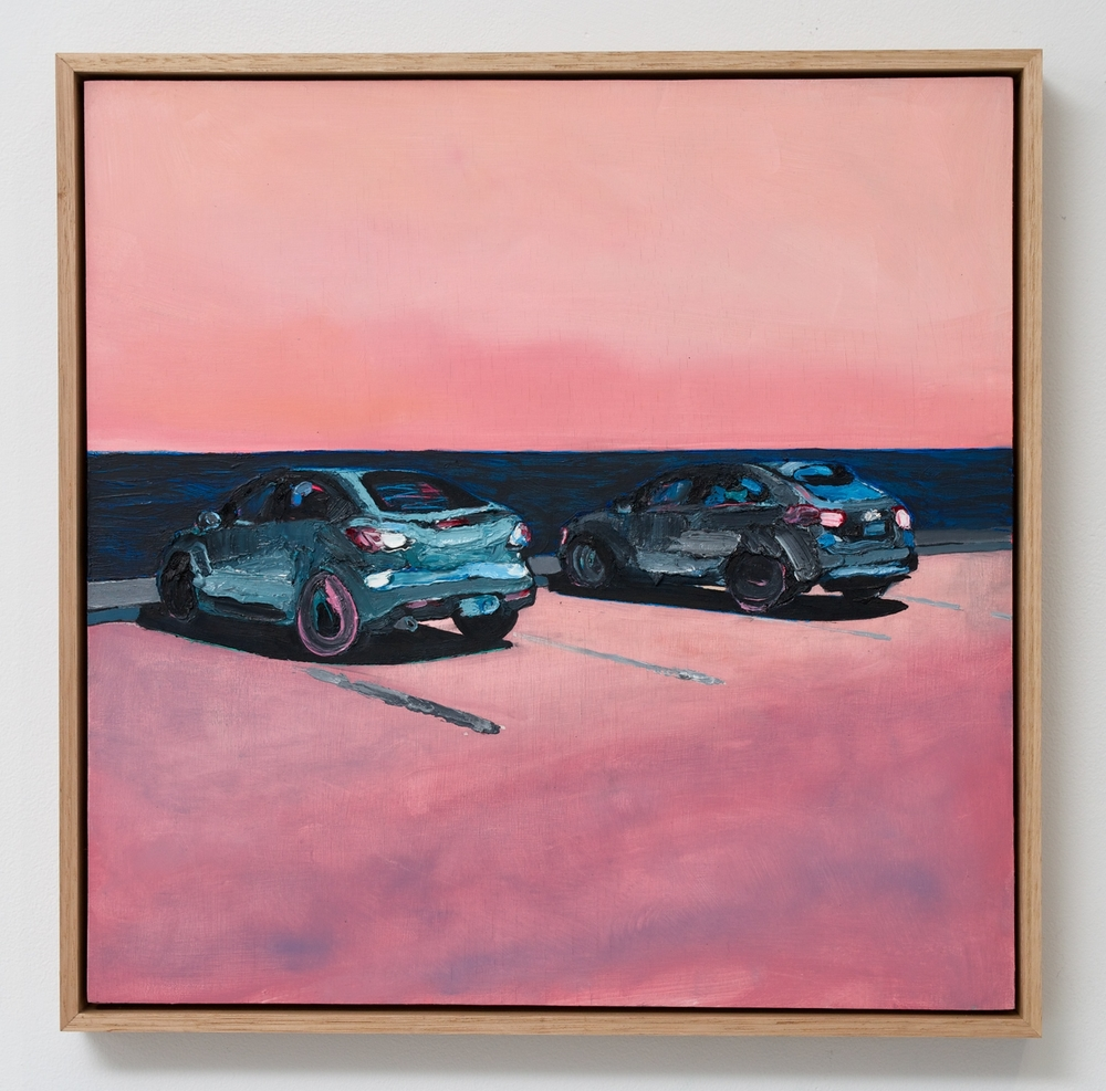 Encounter: Tail Light  2016 Oil on wood panel  Photo: Luke Thompson