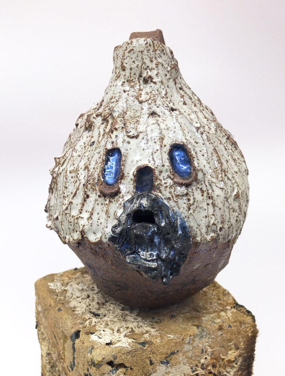 Greybeard Jug   Stoneware, glaze
