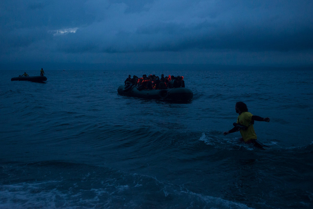 Lesbos: The Refugee Crisis in 2015 and the island in 2017