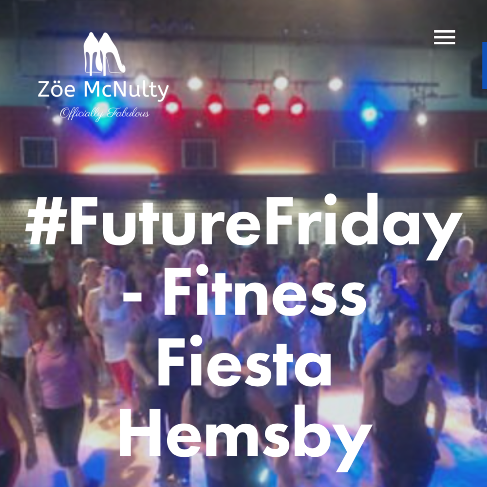 Presenting at Fitness Fiesta, Hemsby 18th-20th Sept & Camber Sands, 2nd-4th Oct
