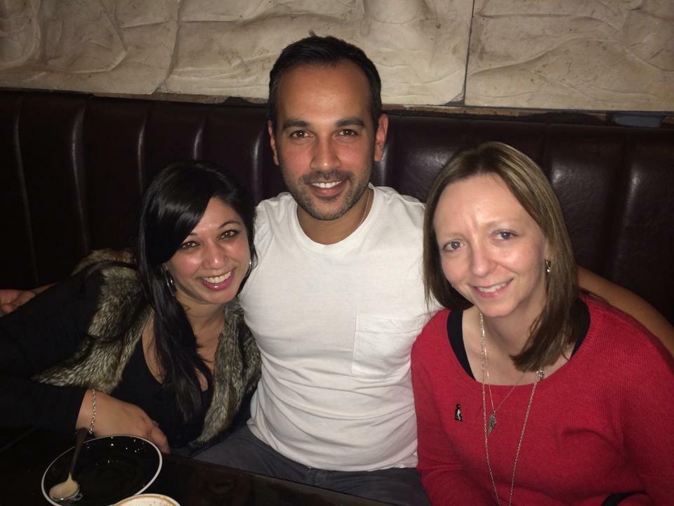 Rodney, Suzette and I.