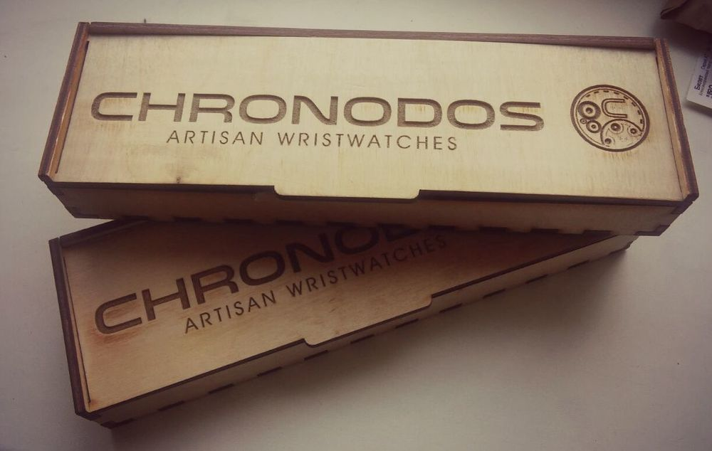 wooden box chronodos watches