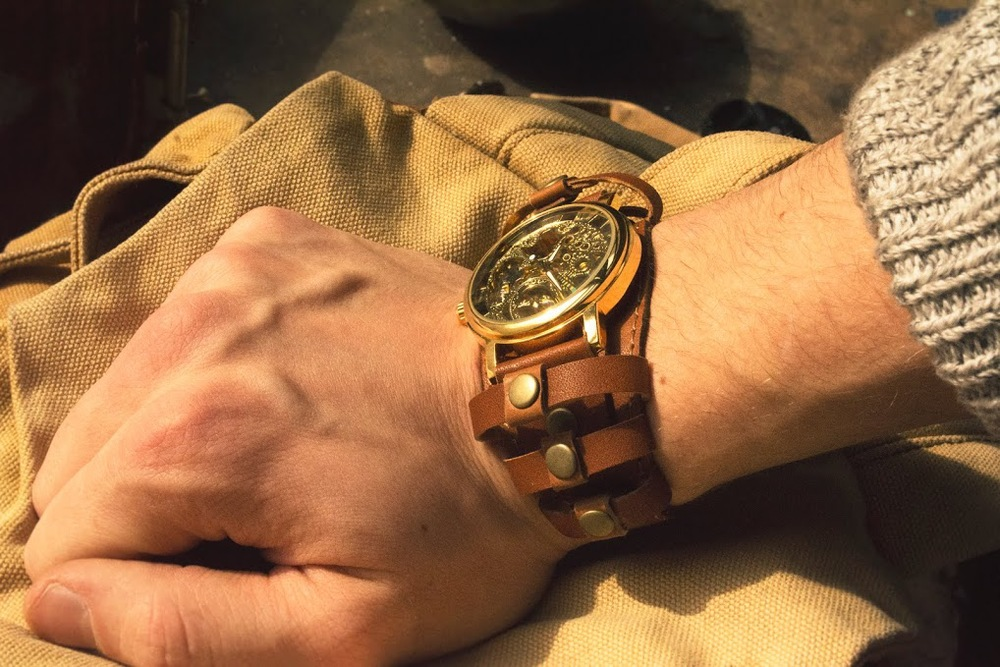 edgy watch for men