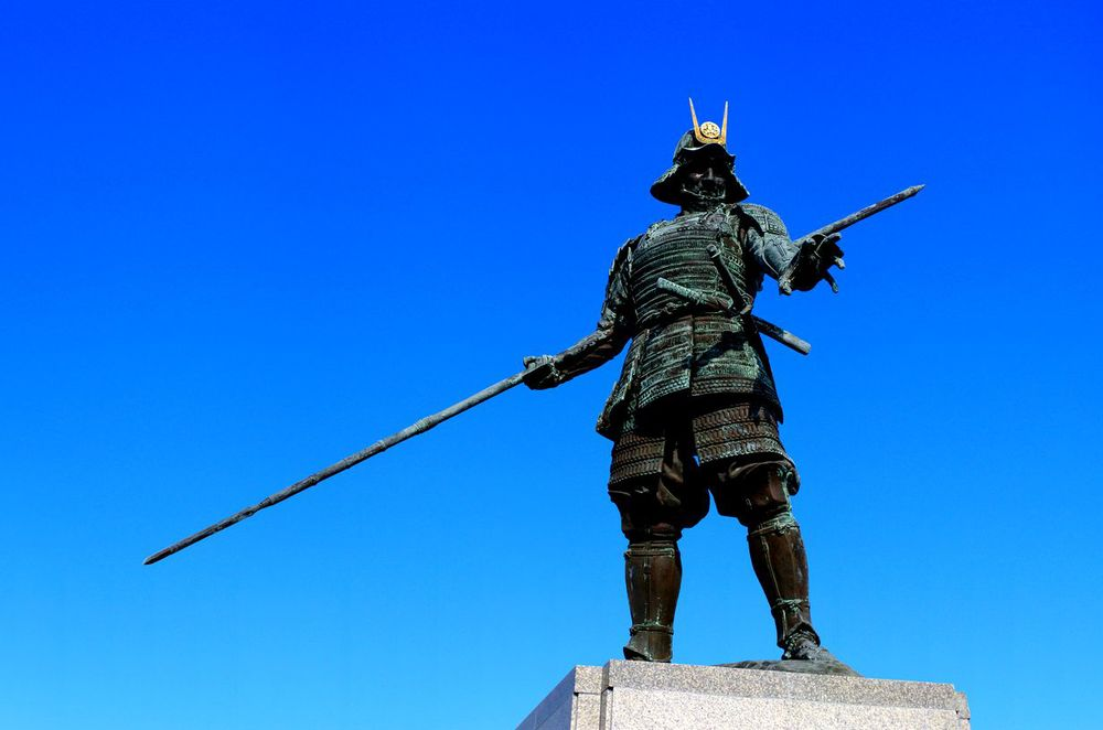 samurai wristwatch