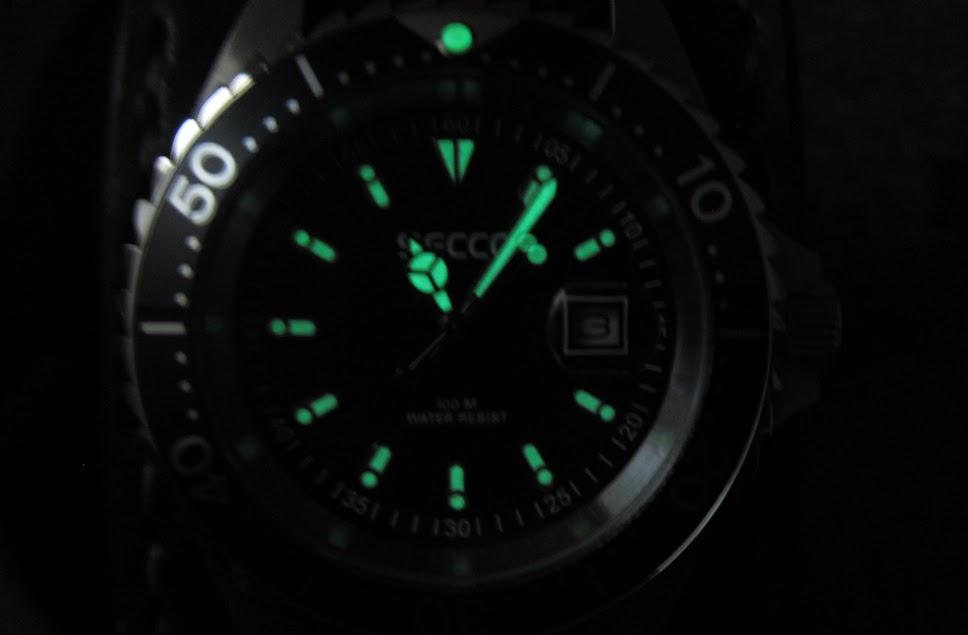 luminescent watch