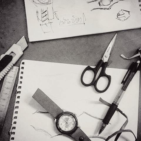 sketchs of watch designs