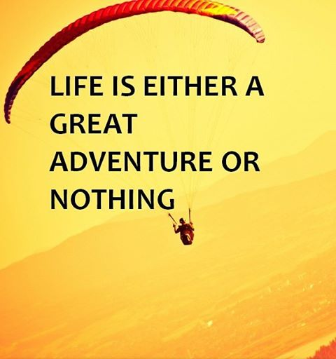 "#Life is either a great adventure or nothing."" Sometimes you have to take life by the balls and start changing things.  Most people have tons of regets when they are old because they didn't do many of the things they wanted to do.  Don't become one of them. In the upcoming weeks we'll share 22 ideas so you can make your life more fulfilling and exciting.  These ideas are also available for free in our Adventure Guide.  Visit www.chronodos.com and get your copy today!"