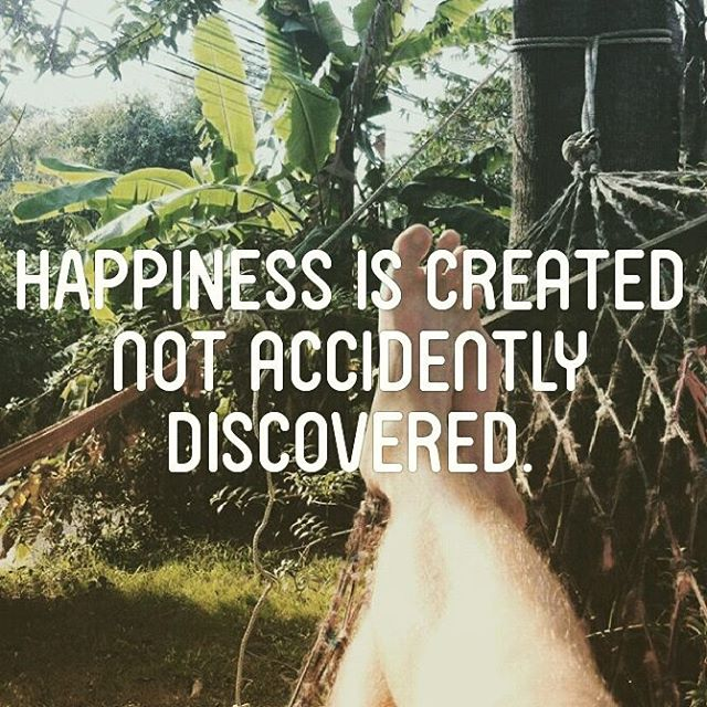 """Happiness is created not accidently discovered."" The key to happiness is fivefold: 1. Freedom - being able to do what you want, when you want, where you want it.  2. Purpose - having some goal or ambition in life you are working towards.  3. Health - being physically and emotionally fit enough to enjoy your time here on earth.  4. Human connection - spending time with other people, whether they are acquitances, friends or loved ones.  5. Security - not having to worry about your finances or personal safety.  You know what to do. Question is, will you start and create your own happiness or deseperately continue to search for it?"