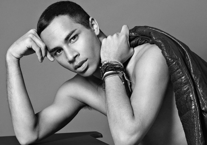Olivier Rousteing by Santiago & Mauricio