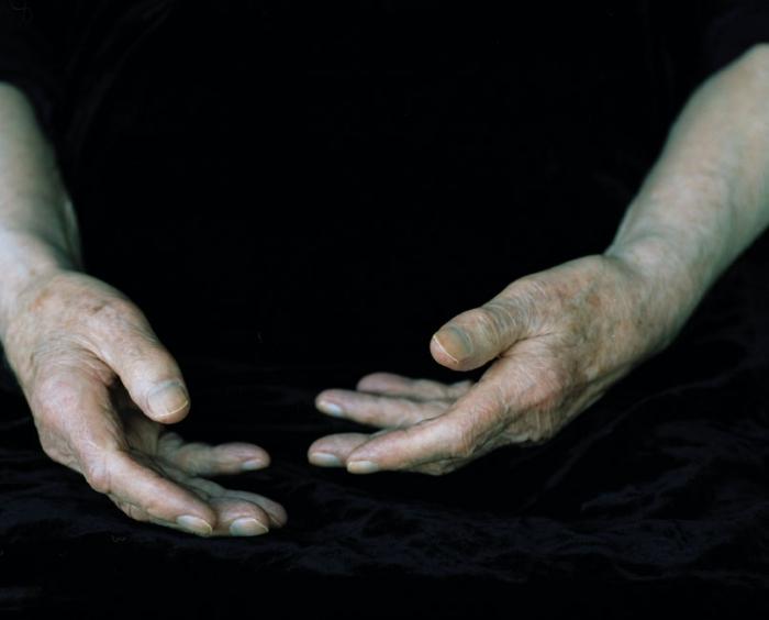 Die Hände von Karl Otto Goetz