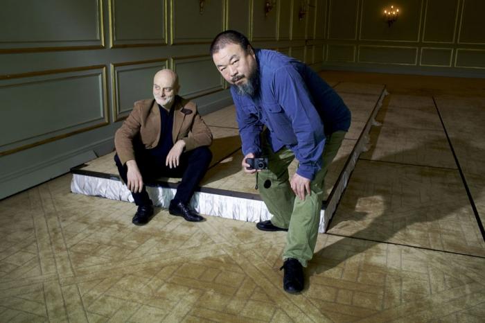 Uli Sigg & Ai Weiwei
