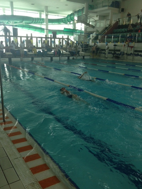 Kyle Pilson in Year 8 competing in the 50m Backstroke.JPG