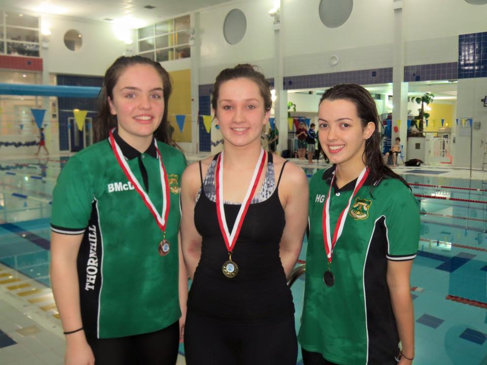 Maura Glynn (middle) came 1st in the Senior Girls Breaststroke.jpg