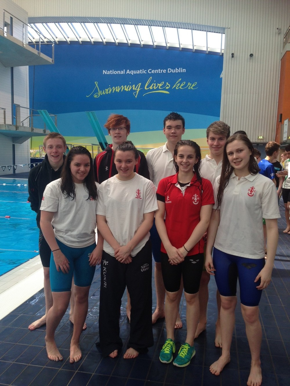 Regent House swimmers at the NAC, Dublin.JPG