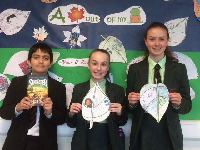 Some of our Year 8 winners