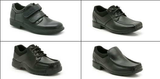 Boys shoe examples