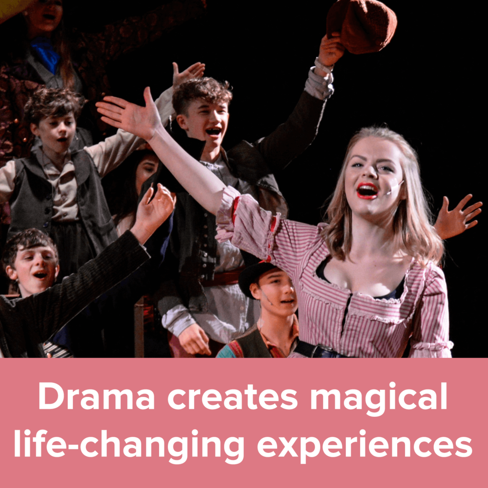 Drama creates magical life-changing experiences