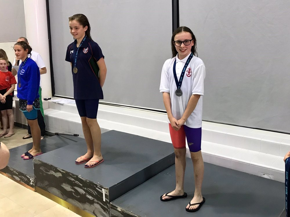 Kiera Aiken came 3rd in the 12 Year Olds Breaststroke.jpg