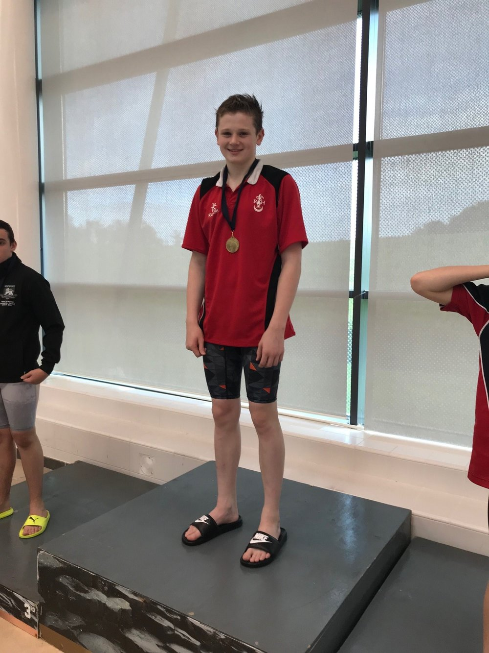Adam Barnes came 1st in the Junior Boys Butterfly and Freestyle.jpg