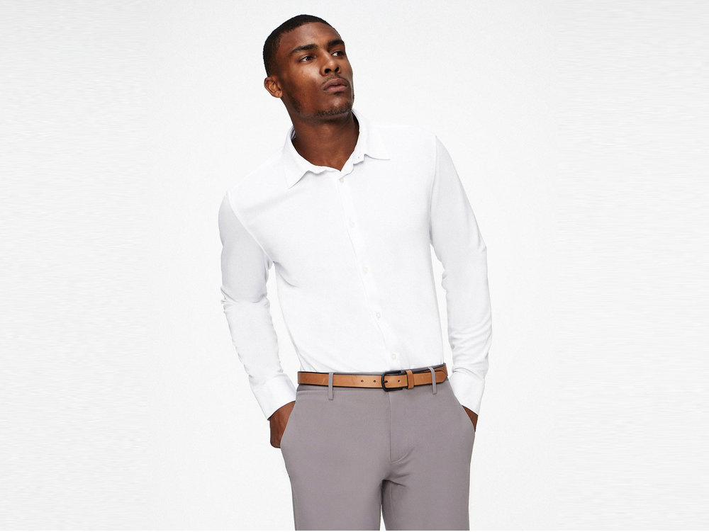 Ministry of Supply Future Forward wrinkle-resistant moisture-wicking dress shirt , $84 (reg. $95)