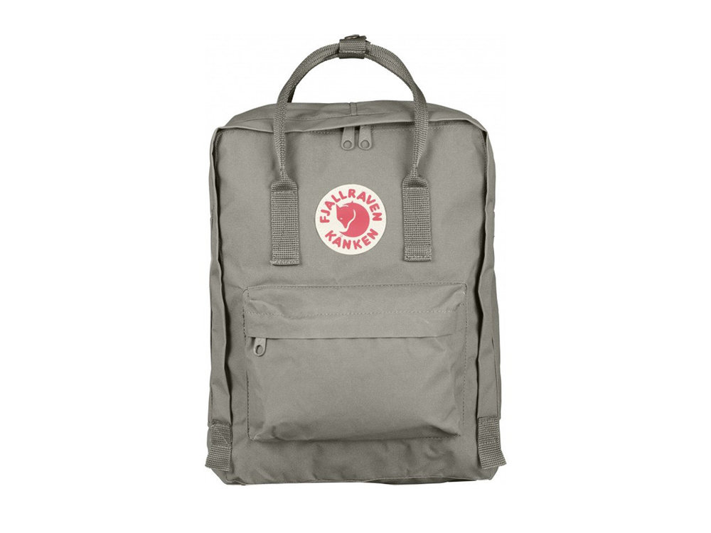 Fjallraven Kanken backpack in Fog , $80