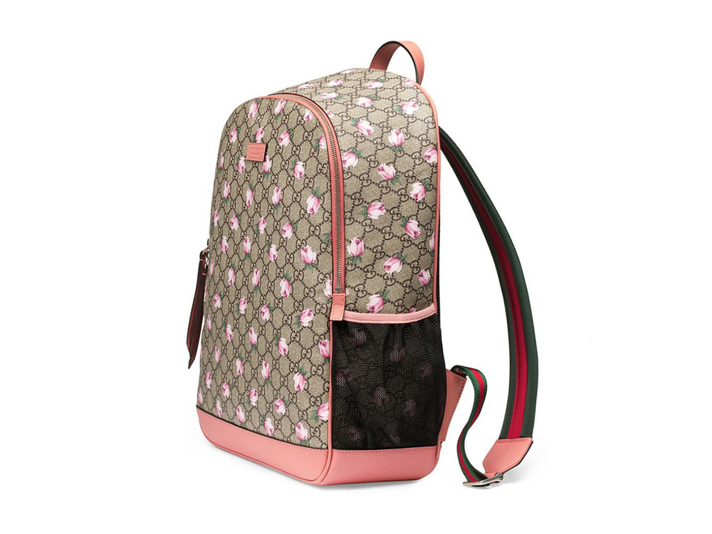Gucci Mum GG Flowers Backpack Diaper Bag, $1490