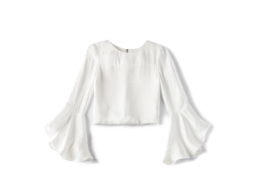 For the little one: Bardot Junior  Flounce Sleeve Top , $42 (orig. $60)