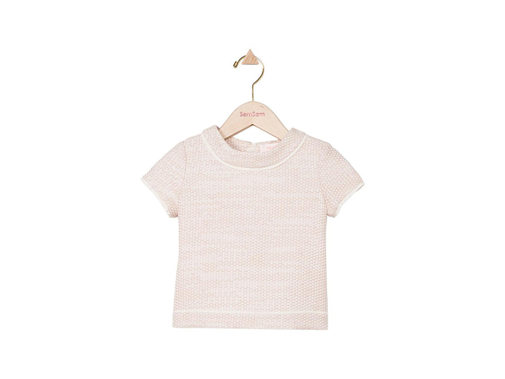 For the little one: Sem Sem  Samia Top  in Blush, $200