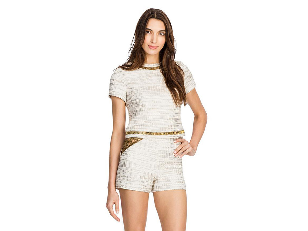For mama: Sem Sem  Samia Top  in Ivory, $650