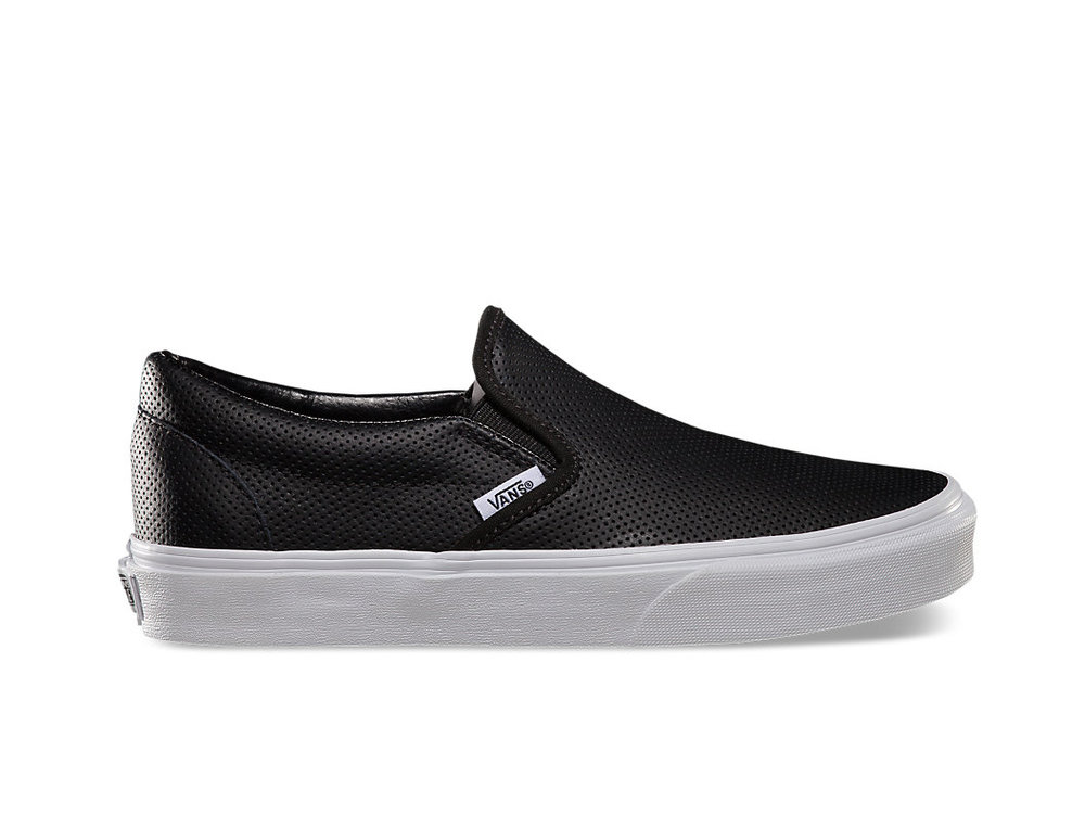 For mama or papa: Vans  Perf Leather Slip-On , $60
