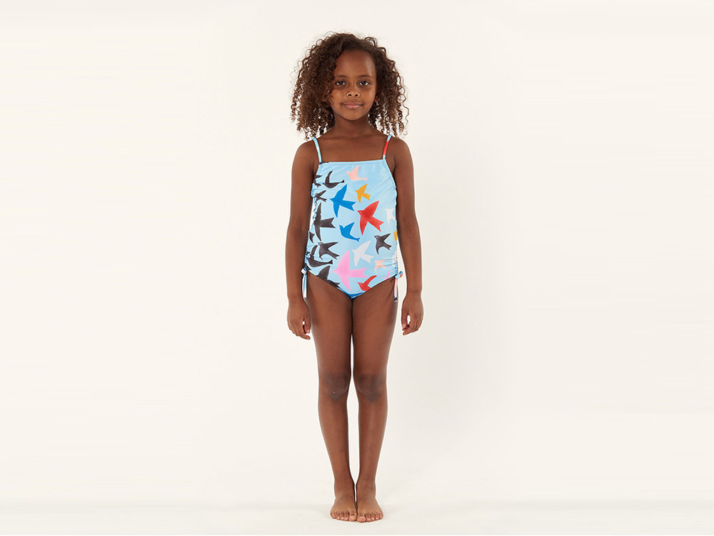 For the little one: Mara Hoffman  Kids Tie Side One Piece , $70 (orig. $100)