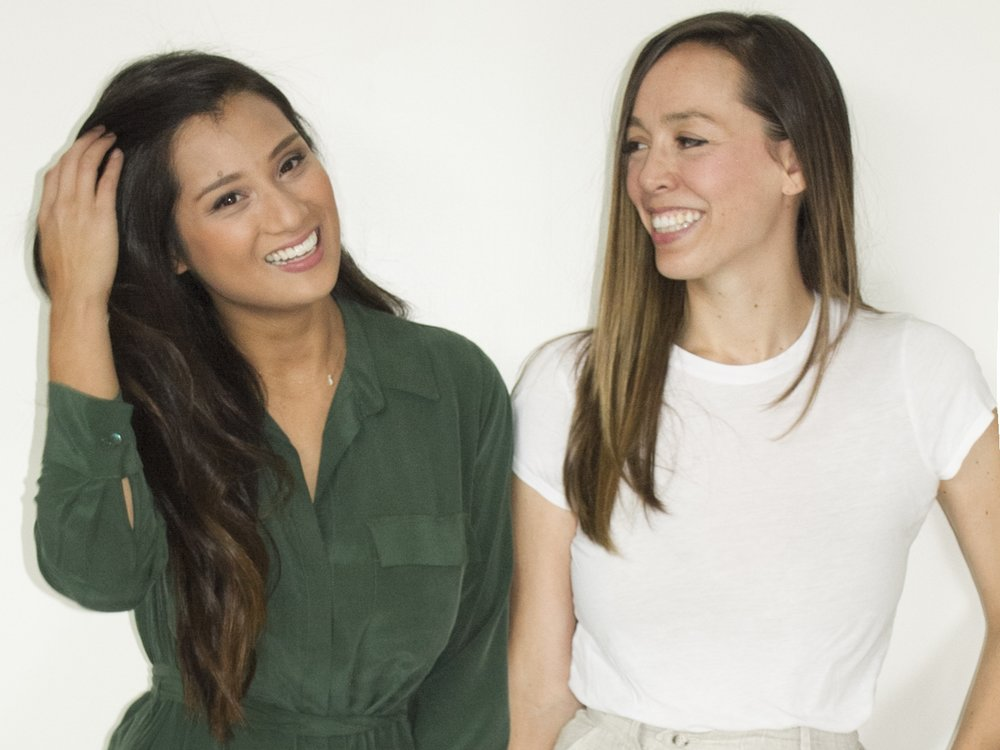 Yumi co-founders Evelyn Rusli and Angela Sutherland.