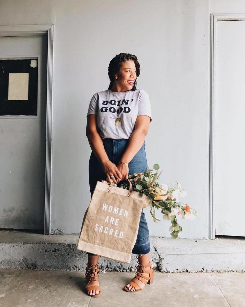 Our Sacred Women Market Bag eileen rosete.jpg
