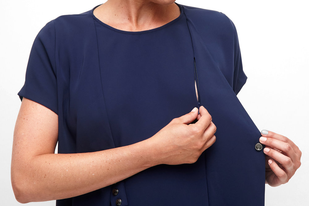 Of - Mercer - Maternity - BROOKFIELD DRESS - Detail 2.jpg