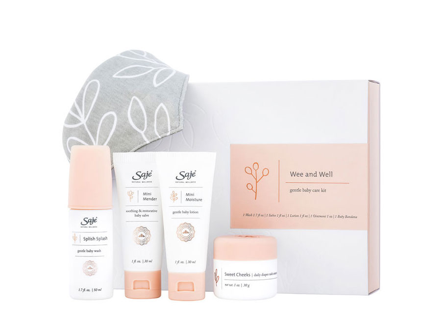 Saje Natural Wellness Wee & Well Kit, $36.95