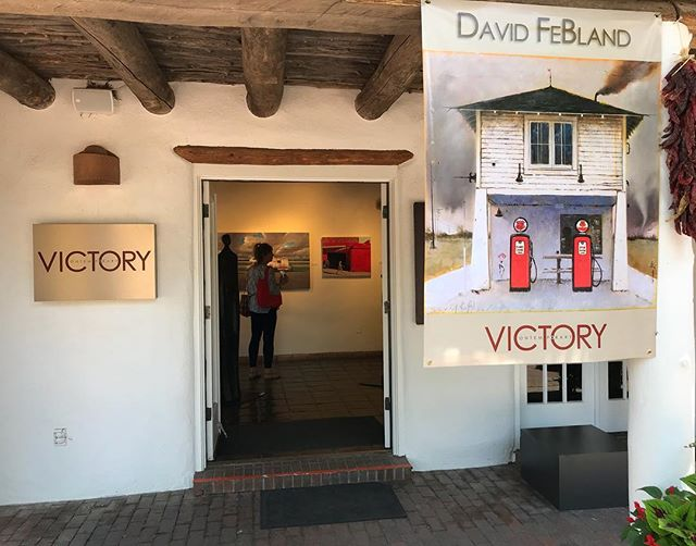 Opening today: Beauty,Space & Time at Victory Contemporary (Formerly McLarry Modern). Opening reception 5 - 7 PM. 225 Canyon Road, for any of you in Santa Fe.#art #kunst #artopening #santafe #newmexico #nm #contemporaryart #davidfebland #fugurativeart #representationalart #painting #oiloncanvas #artexhibition #artshow