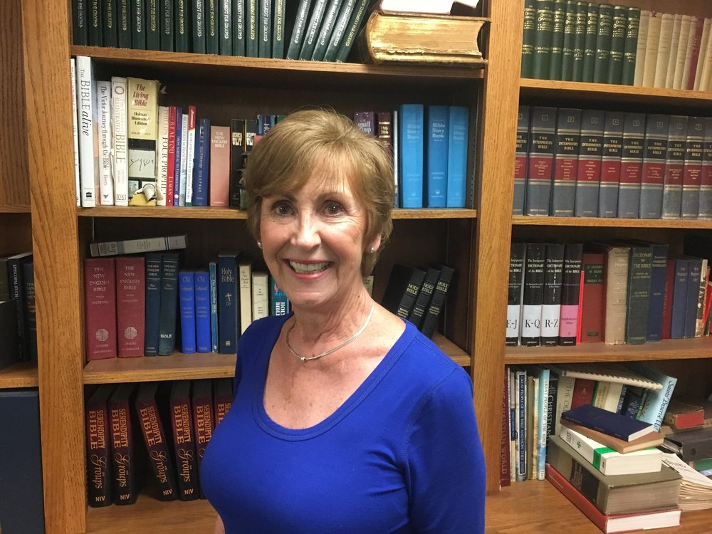 Jan Bos has attended St. Mark's for 27 years.  She is co-chair of the Parish Life Ministry.