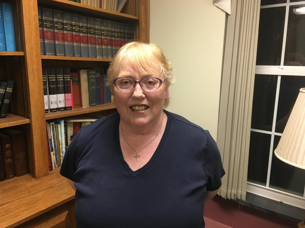"Patricia Ann Burgess has been a member of St. Mark's since 1982.  She has served on the Vestry three times including 2014-16 as Warden.  She serves as a Lector, Eucharistic Visitor, editor of the St. Mark's newsletter - ""The Caller"", a member of The Order of St. Luke - healing ministry, and organizes the Annual Women's Retreat. Member of St. Mark's since 1982."