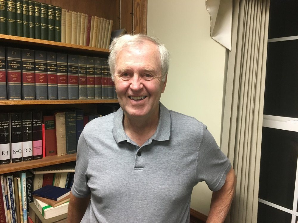 Tom Morrow serves as an usher, as a counter of contributions, and as a member of Buildings and Grounds Committee.  He was Senior Warden of the Vestry and Head of prior search committee.